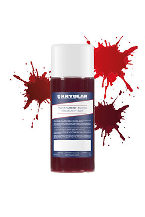Blod 250 ml transparent, Kryolan