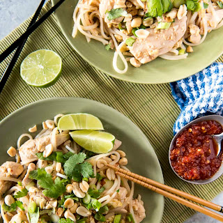Weekday Chicken Pad Thai for Two.