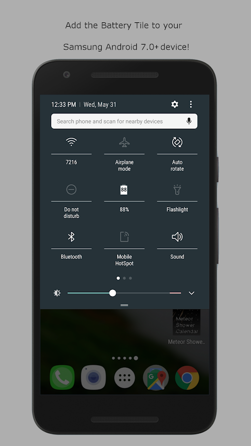 Battery Tile- screenshot