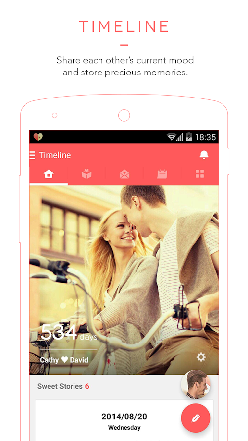 Couplete - App for Couples- screenshot