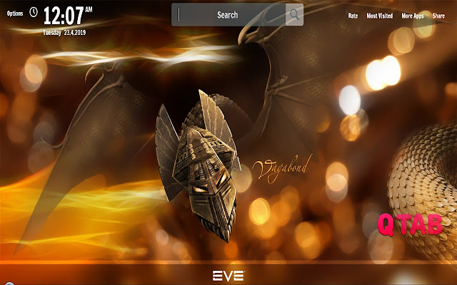 Eve Online New Tab Game Wallpapers