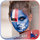 French Southern Flag Face Paint - Photo Editor icon