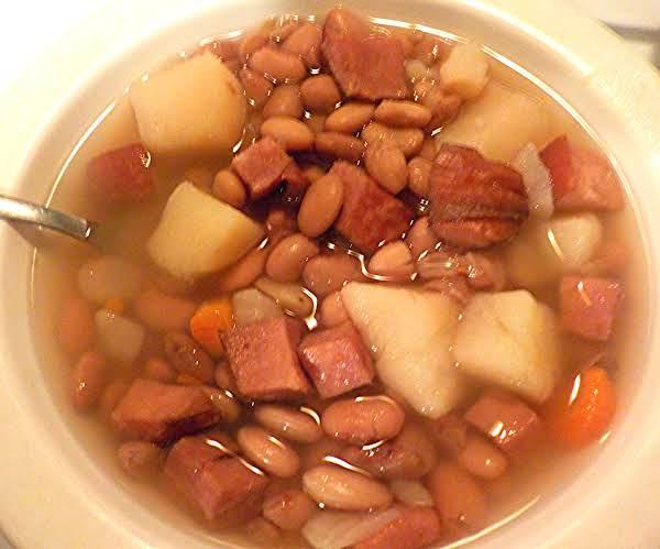 Bean & Ham Soup Recipe