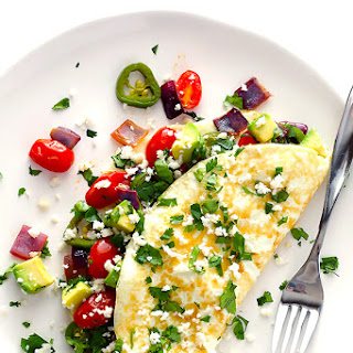 Mexican Egg White Omelet