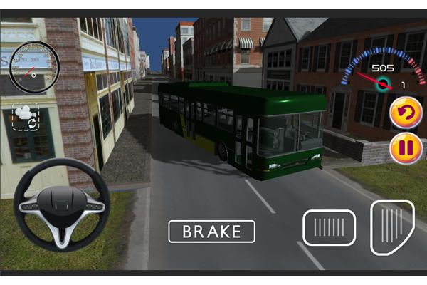 Скриншот Автобус Вождение Игры 3D