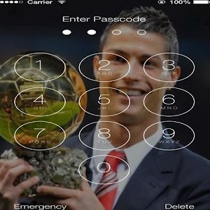 Cristiano Ronaldo Lock Screen HD HQ best for PC