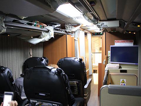 西鉄「はかた号」 0002 ビジネスシートエリア