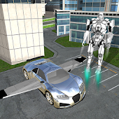 Flying Robot Car Simulator