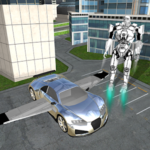 Flying Robot Car Simulator for PC and MAC