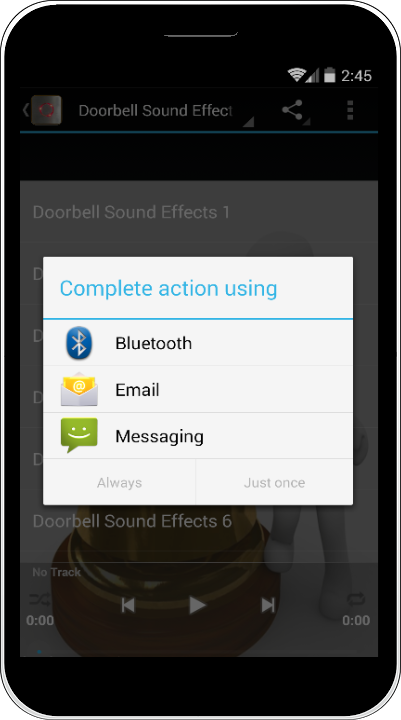 how to set up bell mailon android