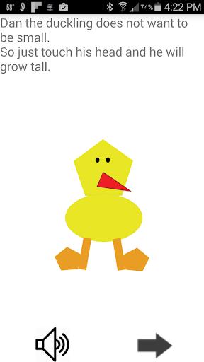 Dan Duckling Kids Read Tap