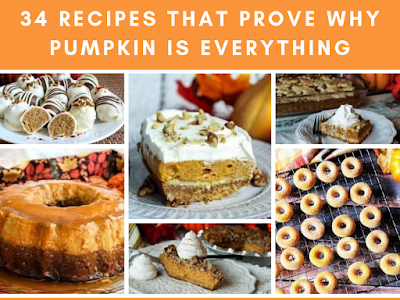 34 Recipes That Prove Why Pumpkin Is Everything