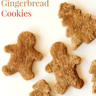 Classic Gluten-Free Gingerbread Cookies (Vegan)