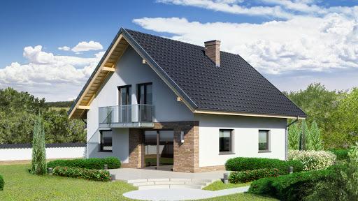 projekt Dom przy Oliwkowej 3 NH