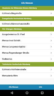 Mensa Erlangen/Nürnberg - náhled