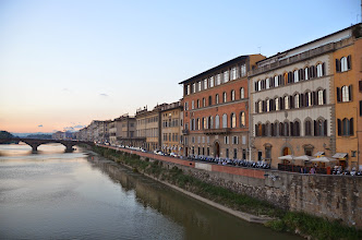 Photo: From the Ponte Vecchio - Florence