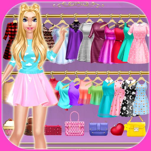 Trendy Fashion Styles Dress Up icon