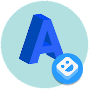 AR Stickers: Text icon