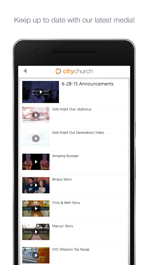 City Church Ok- screenshot