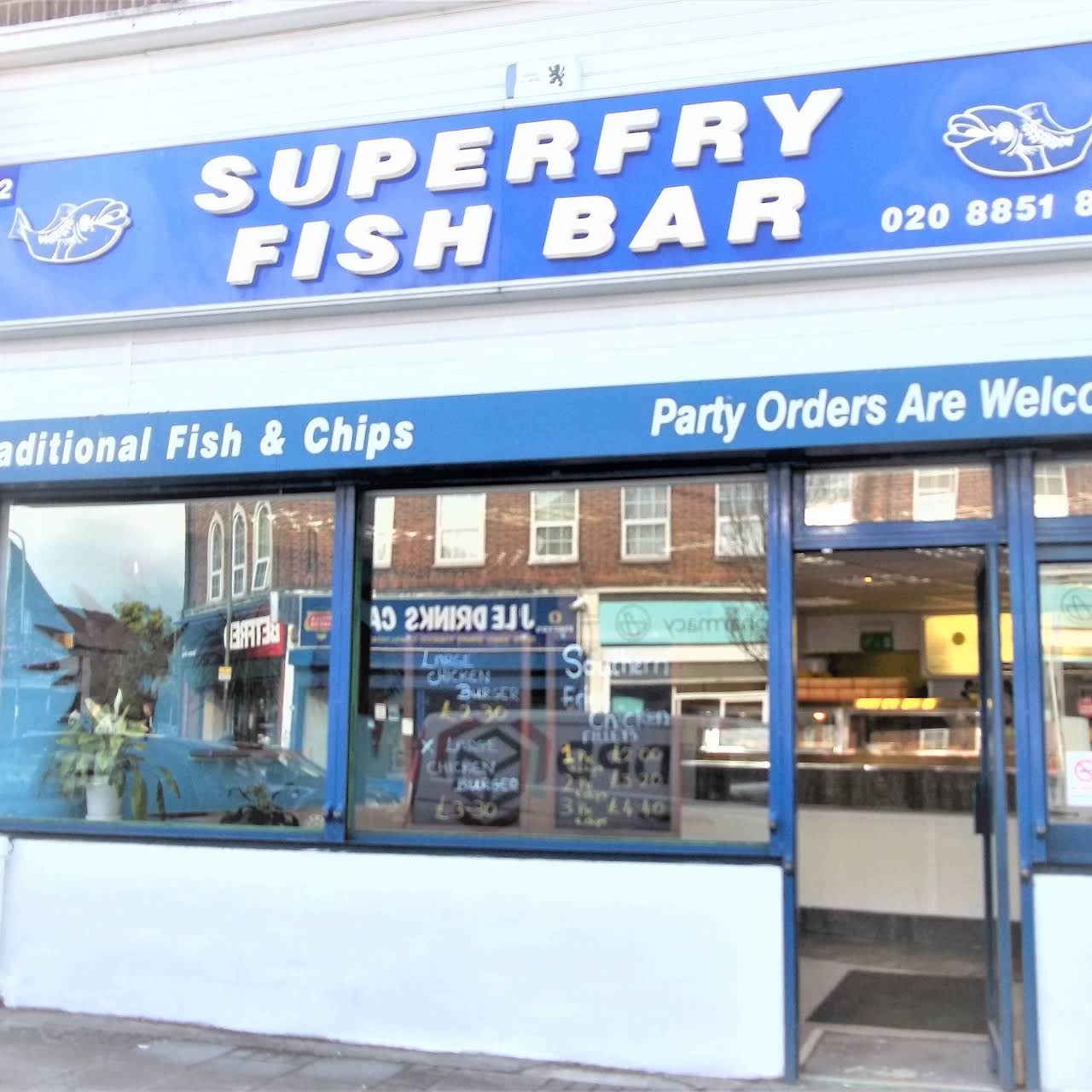 buy popular 7e5c2 23956 Superfry Fish Bar - Your Local Fish and Chips Takeaway