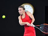 Simona Halep raakte in haar tweede ronde niet voorbij Townsend