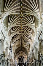 Photo: Exeter Cathedral - ceiling. Captured @ Exeter, Devon, England, UK