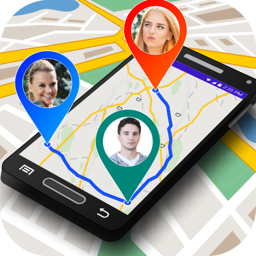 GPS Maps Navigation :  Mobile Location Tracker (app)