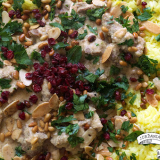 Jordanian Lamb, Yogurt and Rice Pilaf