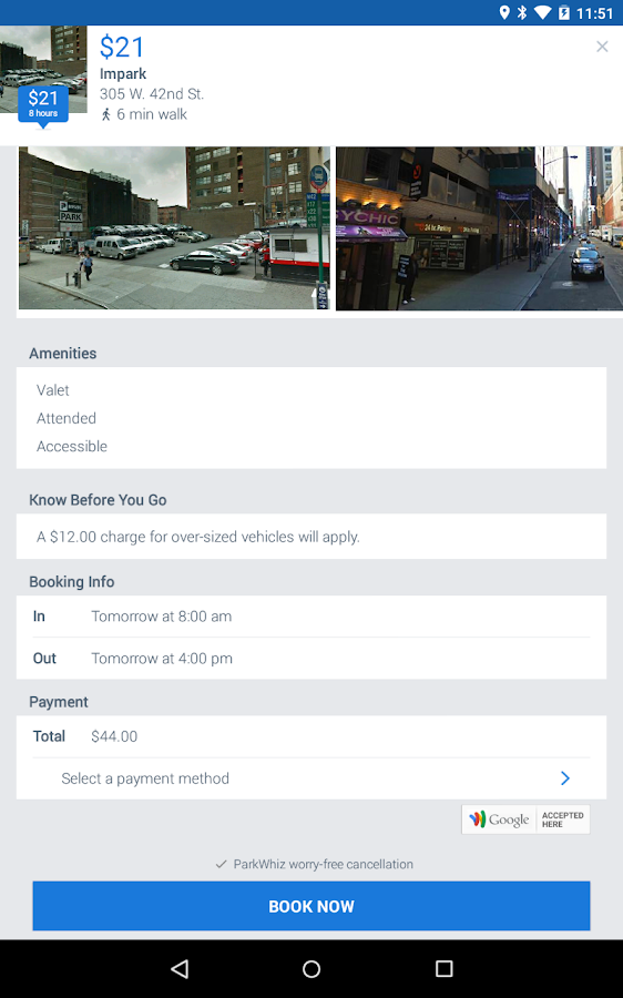 ParkWhiz: Book Parking Deals- screenshot