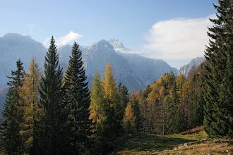 """Photo: Pogled na """"Očaka"""" z Vrtaške planine"""