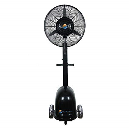 Island Breeze Oscillating Misting Fan