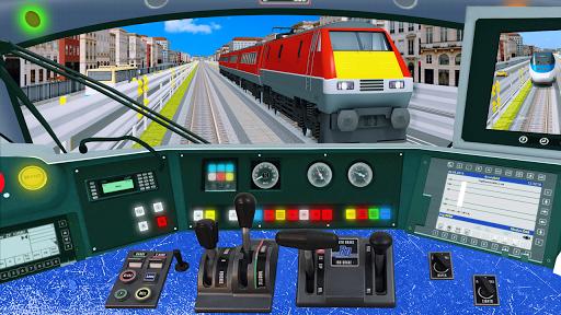 Modern Train Driving Simulator: City Train Games  screenshots 9