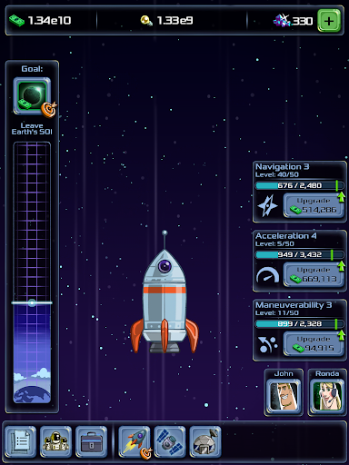 Idle Tycoon: Space Company  captures d'u00e9cran 7