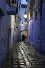 Photo: Chefchaouan by night