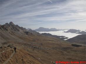 Photo: IMG_4355 Marco sulla Cresta dei Monzoni, sotto mare di nubi