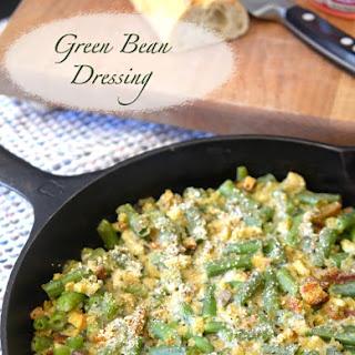 Green Bean Dressing Casserole.