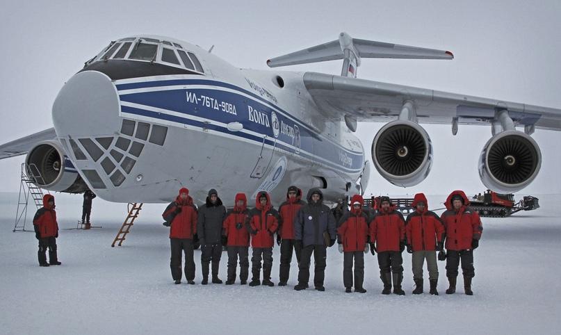 Грузовые авиаперевозки. Ил-76ВД Антарктида