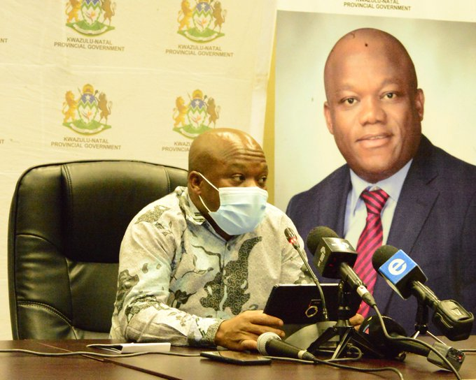 KwaZulu-Natal premier Sihle Zikalala says Covid-19 cases are rising in the province. Durban and Pietermaritzburg are in the eye of the storm.