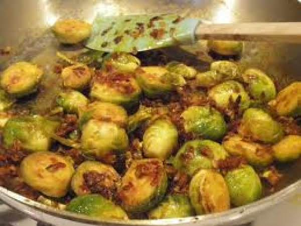 Sprouts Roasted And Marinated Recipe