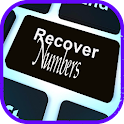 retrieve deleted numbers icon