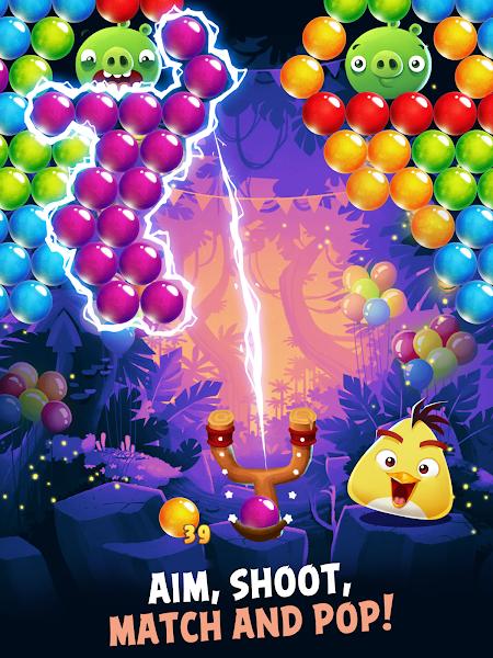Angry Birds POP Bubble Shooter v3.30.0 [Mod]