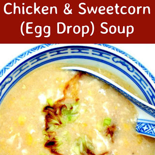 Chicken and Sweetcorn Egg Drop Soup