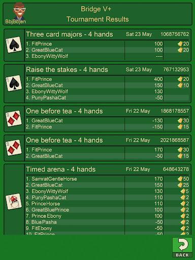 Bridge V+, bridge card game apkpoly screenshots 14