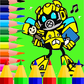 Trans Robot Coloring