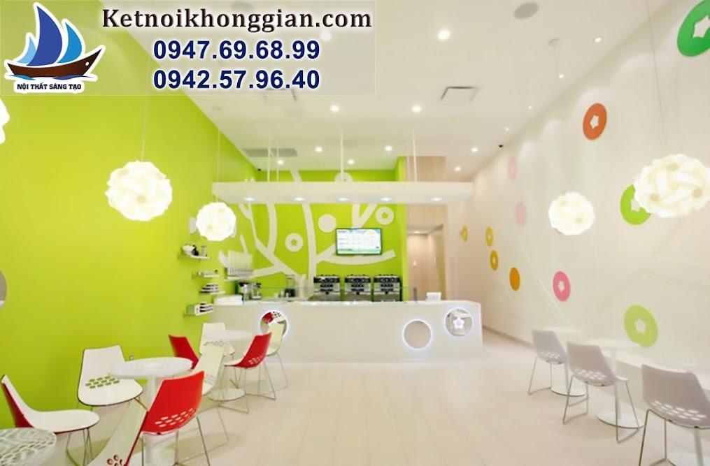 thiết kế shop tinh tế, thiết kế cửa hàng ăn nhanh đẹp và nổi bật
