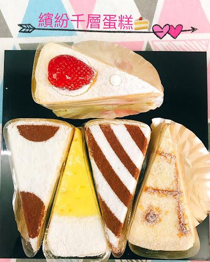 手工細緻的千層蛋糕😍,太好吃了