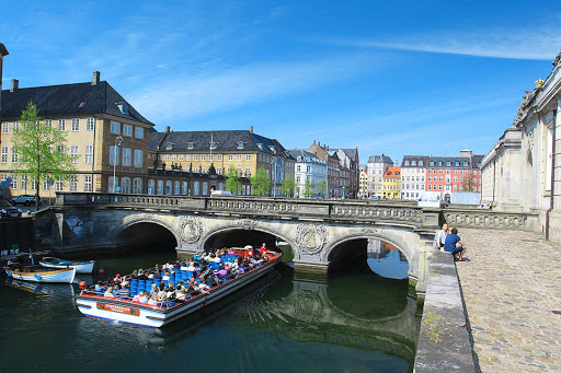 Take a canal tour of Copenhagen to view the sights from a different vantage point.