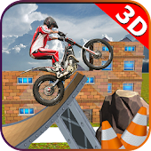 Tricky Bike Speed Stunt Trail: Real Top Rider