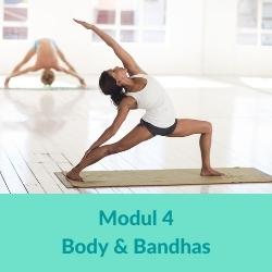 Vinyasa Yoga Body und Bandhas