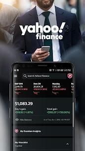 Yahoo Finance: Real-Time Stocks & Investing News App Latest Version Download For Android and iPhone 1